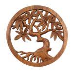 Wandbild Wanddeko Mandala Relief Lebensbaum Baum Symbol Mythologie Sofa Mit Holzfüßen Bad Unterschrank Holz Regal Naturholz Massivholz Massivholzküche Wohnzimmer Wanddeko Holz