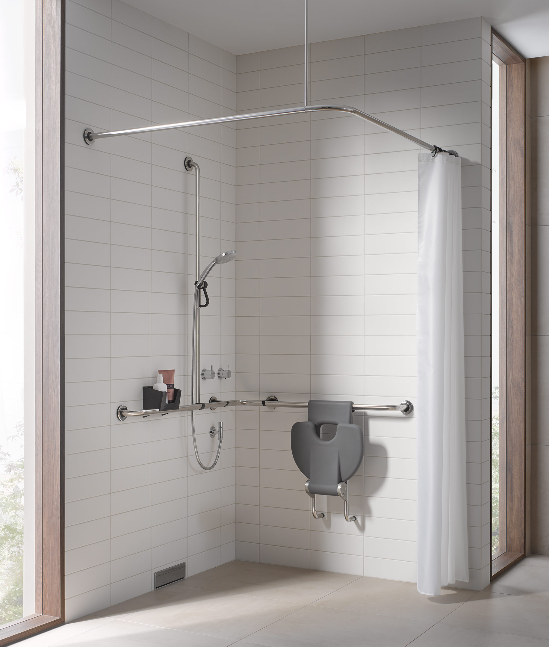 Full Size of Haltegriff Dusche Krankenkasse Saugnapf Hornbach Grohe Test Fsb Ergosystem E300 Einbauen Moderne Duschen Einhebelmischer Glastrennwand Walkin Bodengleiche Dusche Haltegriff Dusche