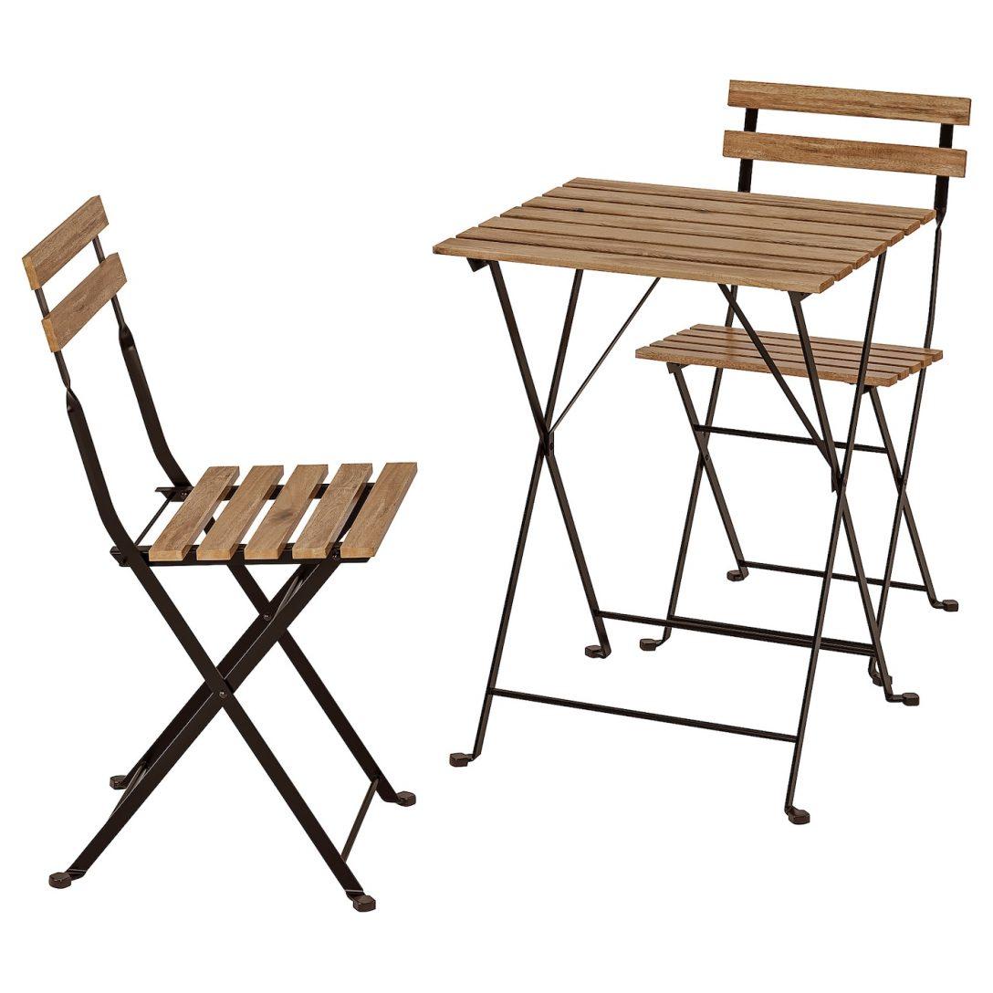 Large Size of Trn Tisch 2 Sthle Auen Schwarz Akazie Küche Ikea Kosten Betten Bei Sofa Mit Schlaffunktion 160x200 Miniküche Modulküche Kaufen Wohnzimmer Ikea Gartentisch