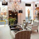 Wohnzimmer Dekorieren Wohnzimmer Wohnzimmer Lizenzfreie Fotos Landhausstil Teppich Beleuchtung Hängeschrank Weiß Hochglanz Wandbild Liege Sessel