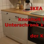 Ikea Hack Knoxhult Kche Unterschrank Krzen Der Korpus Youtube Vinylboden Küche Hängeregal Ohne Elektrogeräte Pantryküche Mit Kühlschrank Wandregal Wohnzimmer Ikea Hacks Küche