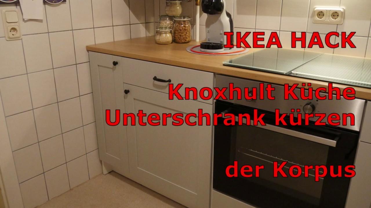 Full Size of Ikea Hack Knoxhult Kche Unterschrank Krzen Der Korpus Youtube Vinylboden Küche Hängeregal Ohne Elektrogeräte Pantryküche Mit Kühlschrank Wandregal Wohnzimmer Ikea Hacks Küche