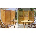 Paravent Outdoor Wohnzimmer Paravent Outdoor Klappbare Holz Paravents Promondo Küche Kaufen Garten Edelstahl