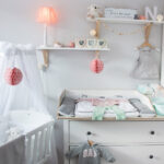 Einrichtung Kinderzimmer Kinderzimmer Ein Skandinavisches Kinderzimmer Und Wickelaufsatz Fr Die Regal Sofa Regale Weiß