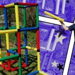 Kinderspielzeit Fynn Und Wyatt Bauen Mit Ihren Affen Ein Quadro Klettergerüst Garten Wohnzimmer Quadro Klettergerüst