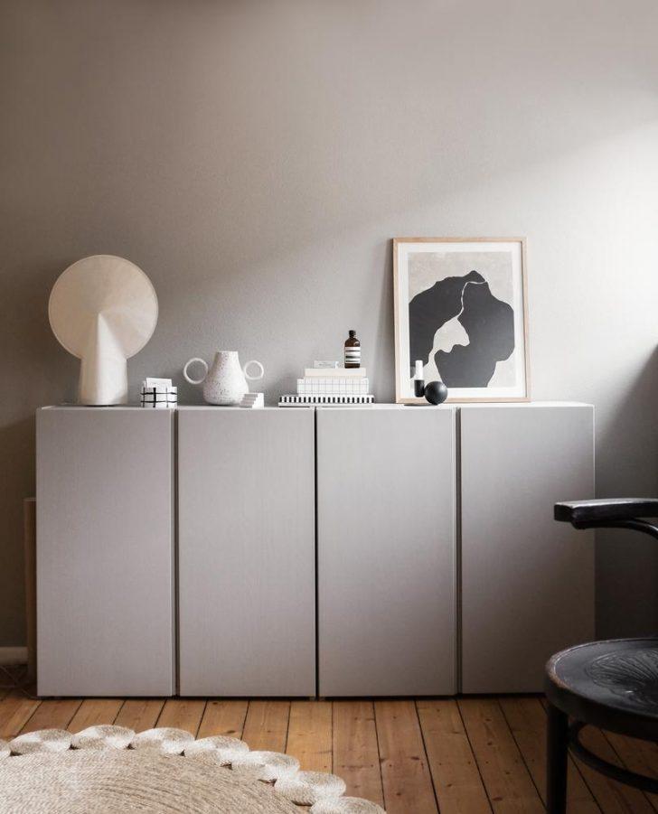 Medium Size of Ikea Küche Grau Ivar Schrank Lackieren So Gehts Kolorat Unterschränke Abfalleimer Glaswand Kaufen Mit Elektrogeräten Einlegeböden L Form Armatur Betten Wohnzimmer Ikea Küche Grau