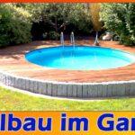 Pool Garten Wohnzimmer Pool Gartengestaltung Garten Rund Einbau Rundbecken Terrasse Kosten Beispiele Mit Pinterest 3m Kaufen Aufblasbar Bilder Eckig Intex Klein Bauen Stahlwandpool