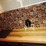 Kchenrckwand Ideen Mexikanische Fliesen Designer Vintage Bad Renovieren Wohnzimmer Tapeten Wohnzimmer Küchenrückwand Ideen