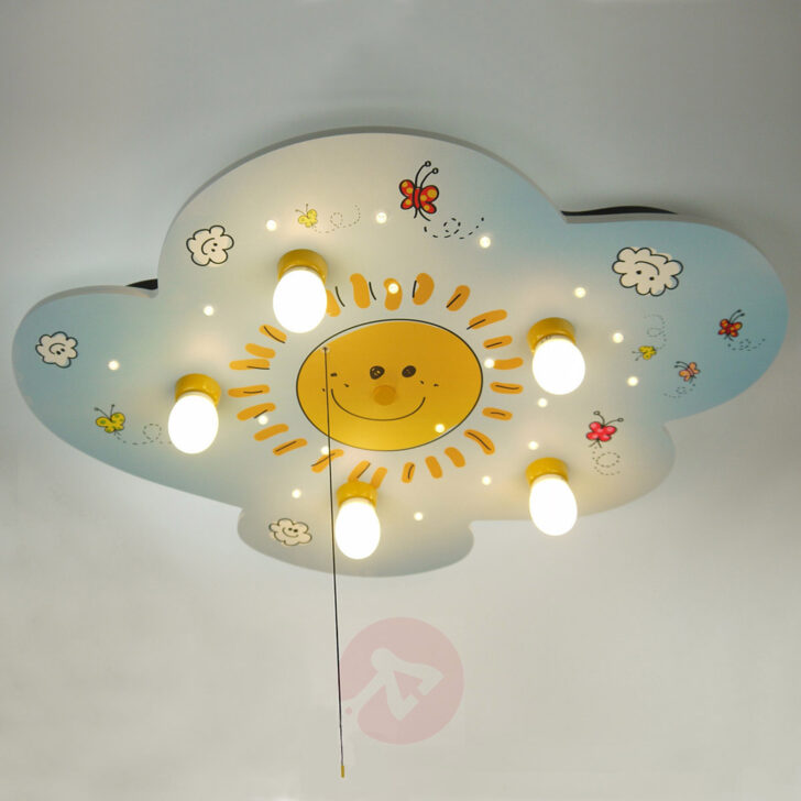 Medium Size of Kinderzimmer Deckenleuchte Sunny Mit Leds Kaufen Lampenweltde Sofa Regal Weiß Deckenlampen Für Wohnzimmer Modern Regale Kinderzimmer Deckenlampen Kinderzimmer
