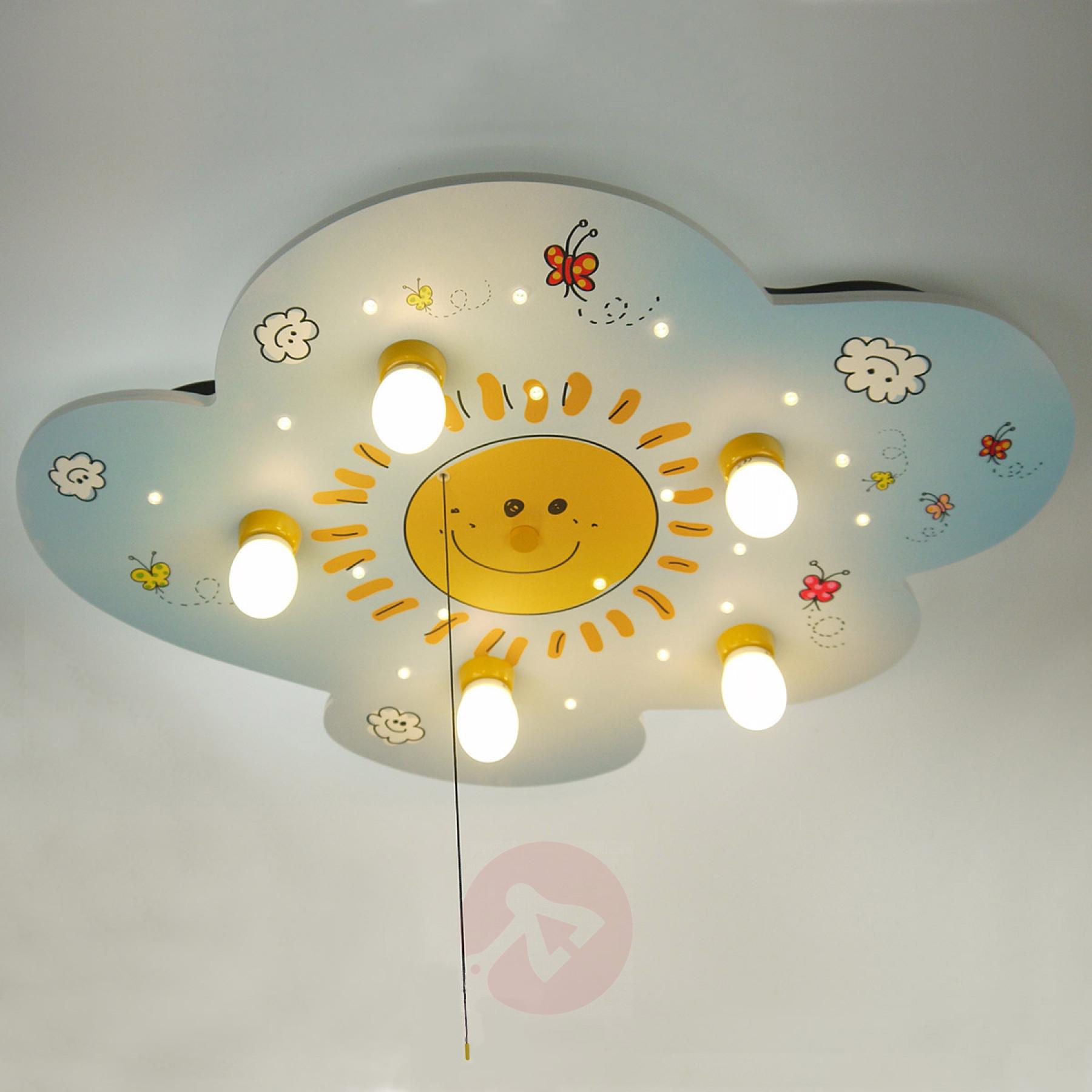 Full Size of Kinderzimmer Deckenleuchte Sunny Mit Leds Kaufen Lampenweltde Sofa Regal Weiß Deckenlampen Für Wohnzimmer Modern Regale Kinderzimmer Deckenlampen Kinderzimmer