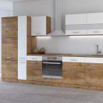 Küchen Wohnzimmer Küchen Kche Cora Ii 310 Kchenzeile Kchenblock Einbaukche Eiche Regal
