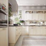 Magnolia Farbe Landhaus Einbaukche Norina 9985 Lack Kchenquelle Wohnzimmer Magnolia Farbe