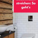 Bodenfliesen Streichen Anleitung Fr Heimwerker In 2020 Küche Bad Wohnzimmer Bodenfliesen Streichen