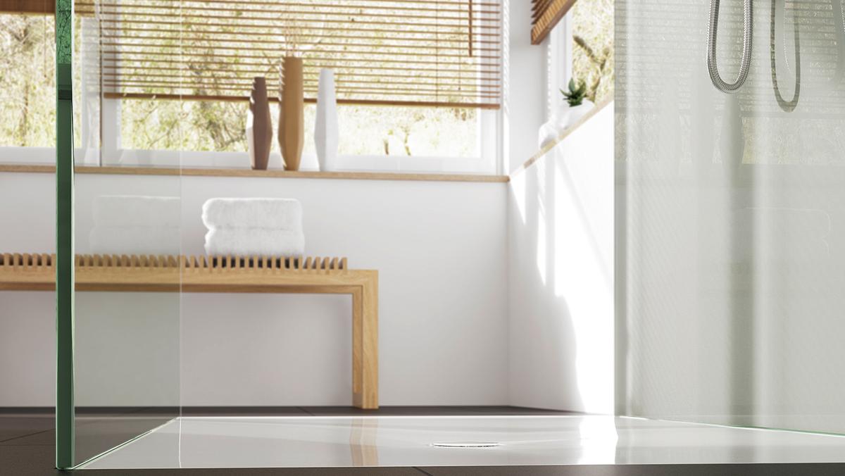 Full Size of Dusche Wand Breuer Duschen Sprinz Kaufen Bluetooth Lautsprecher Bodengleiche Badewanne Unterputz Grohe Schulte Werksverkauf Hsk Ebenerdige Glastrennwand Dusche Ebenerdige Dusche