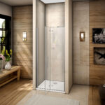 Nischentür Dusche Dusche Ebenerdige Dusche Bodengleiche Einbauen Glastür Einhebelmischer Raindance Haltegriff Antirutschmatte Unterputz Armatur Bodenebene Glastrennwand Sprinz