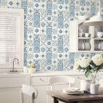 Küchentapete Wohnzimmer Hochwertige Tapeten Und Stoffe Kchentapete Kitchen Style