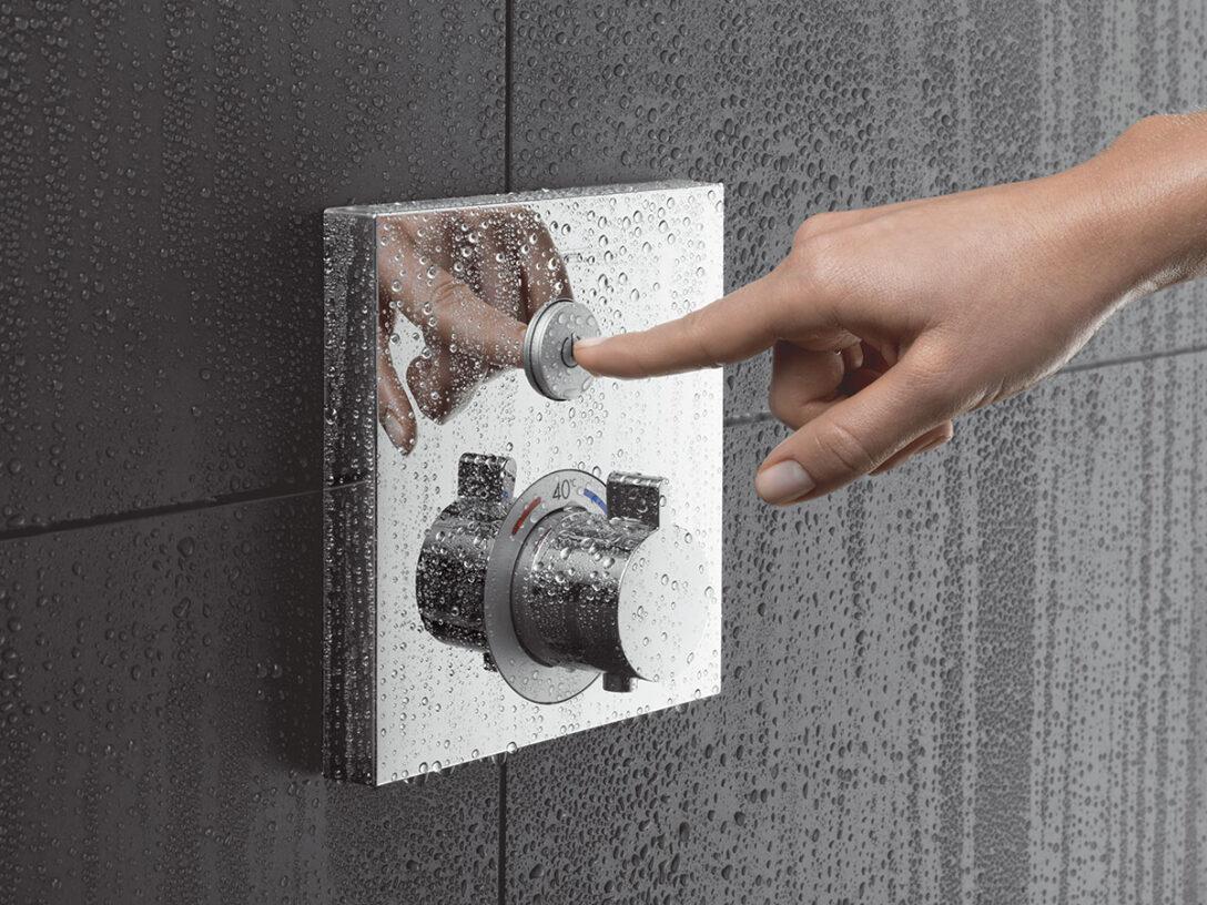 Large Size of Grohe Thermostat Dusche Duschthermostat Einbauen Abfluss Bodenebene Kaufen Antirutschmatte Fliesen Behindertengerechte Bodengleiche Glastrennwand Rainshower Dusche Grohe Thermostat Dusche