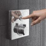 Grohe Thermostat Dusche Duschthermostat Einbauen Abfluss Bodenebene Kaufen Antirutschmatte Fliesen Behindertengerechte Bodengleiche Glastrennwand Rainshower Dusche Grohe Thermostat Dusche