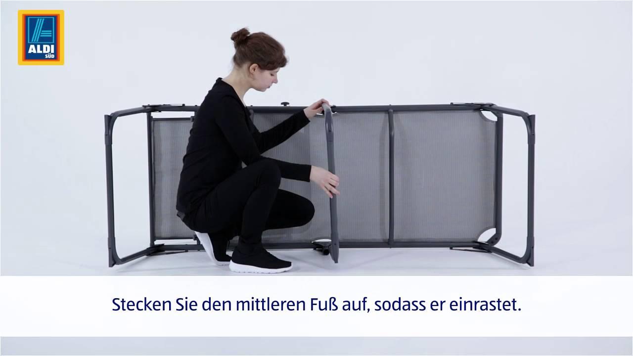 Full Size of Liegestuhl Aldi Xxl Komfort Sonnenliege Youtube Relaxsessel Garten Wohnzimmer Liegestuhl Aldi