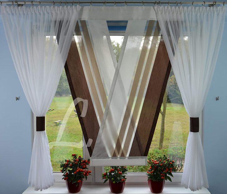 Amazonde V Panel Moderne Gardinen Scheibengardinen Für Küche Schlafzimmer Fenster Landhausküche Deckenleuchte Wohnzimmer Duschen Bilder Fürs Die Esstische Wohnzimmer Moderne Gardinen
