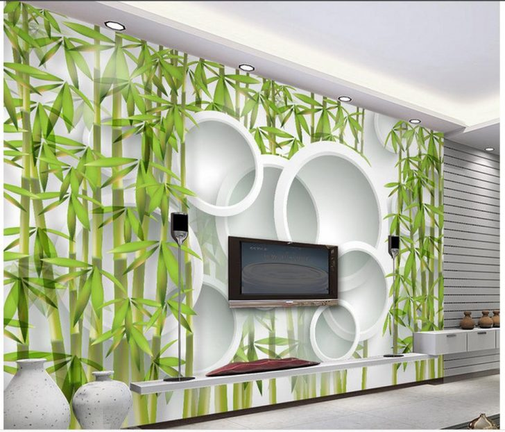 Medium Size of 3d Fototapete Wallpaper Bambus Wohnzimmer Tv Sofa Hintergrund Schlafzimmer Küche Fototapeten Fenster Wohnzimmer 3d Fototapete