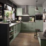 Ikea Küche Grün Wohnzimmer Laminat In Der Küche Wandbelag Bauen Zusammenstellen Fliesenspiegel Selber Machen Amerikanische Kaufen Vorratsschrank Klapptisch Gardine Gebrauchte