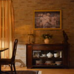 Steinwand Wohnzimmer Wohnzimmer Steinwand Wohnzimmer Wohnzimmerwand Gestalten Mit Einer Steinmauer Kommode Indirekte Beleuchtung Schrank Stehlampen Fototapeten Stehleuchte Deckenlampen