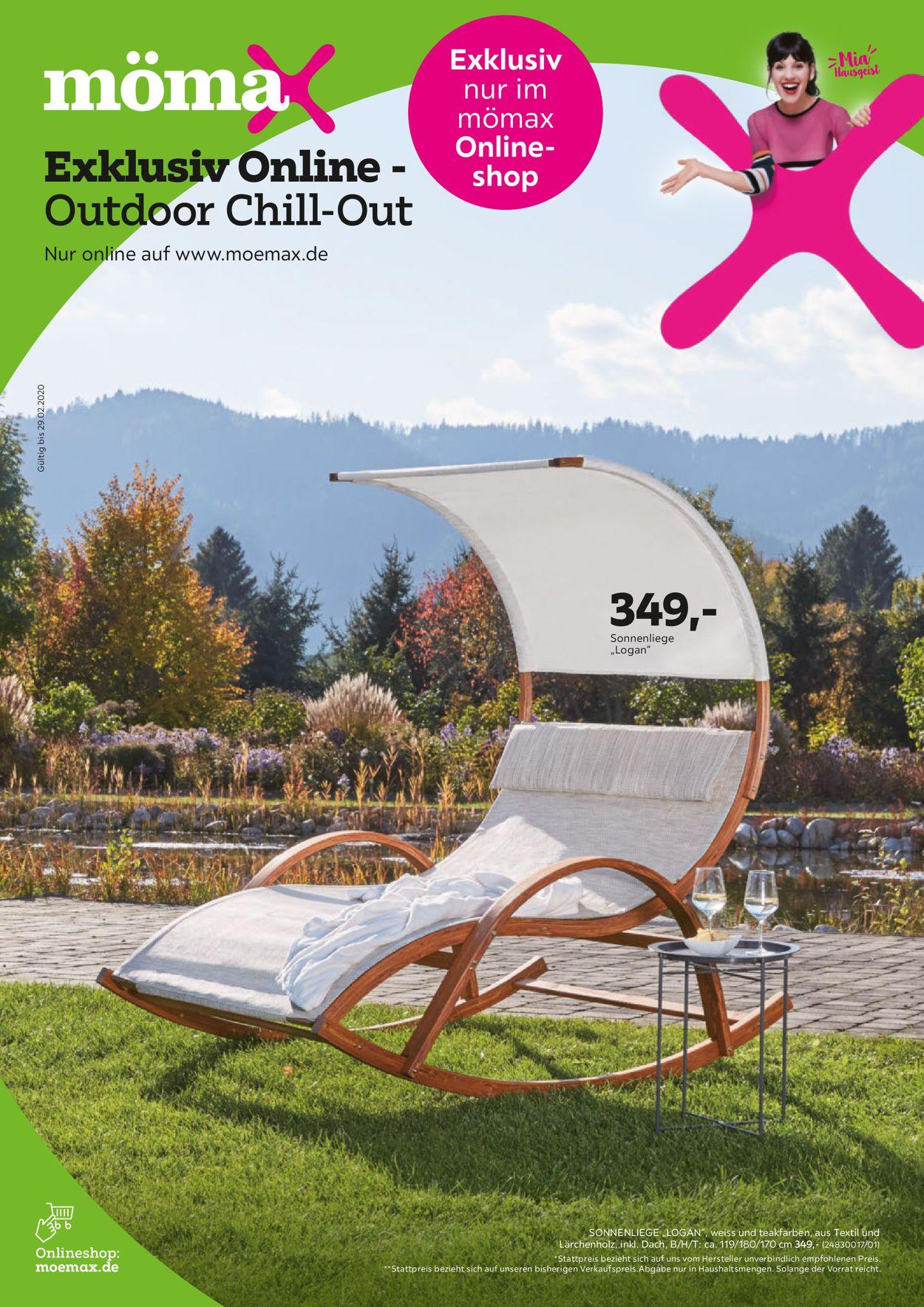 Full Size of Mmaaktueller Prospekt 1602 29022020 Jedewoche Rabattede Relaxsessel Garten Aldi Wohnzimmer Sonnenliege Aldi