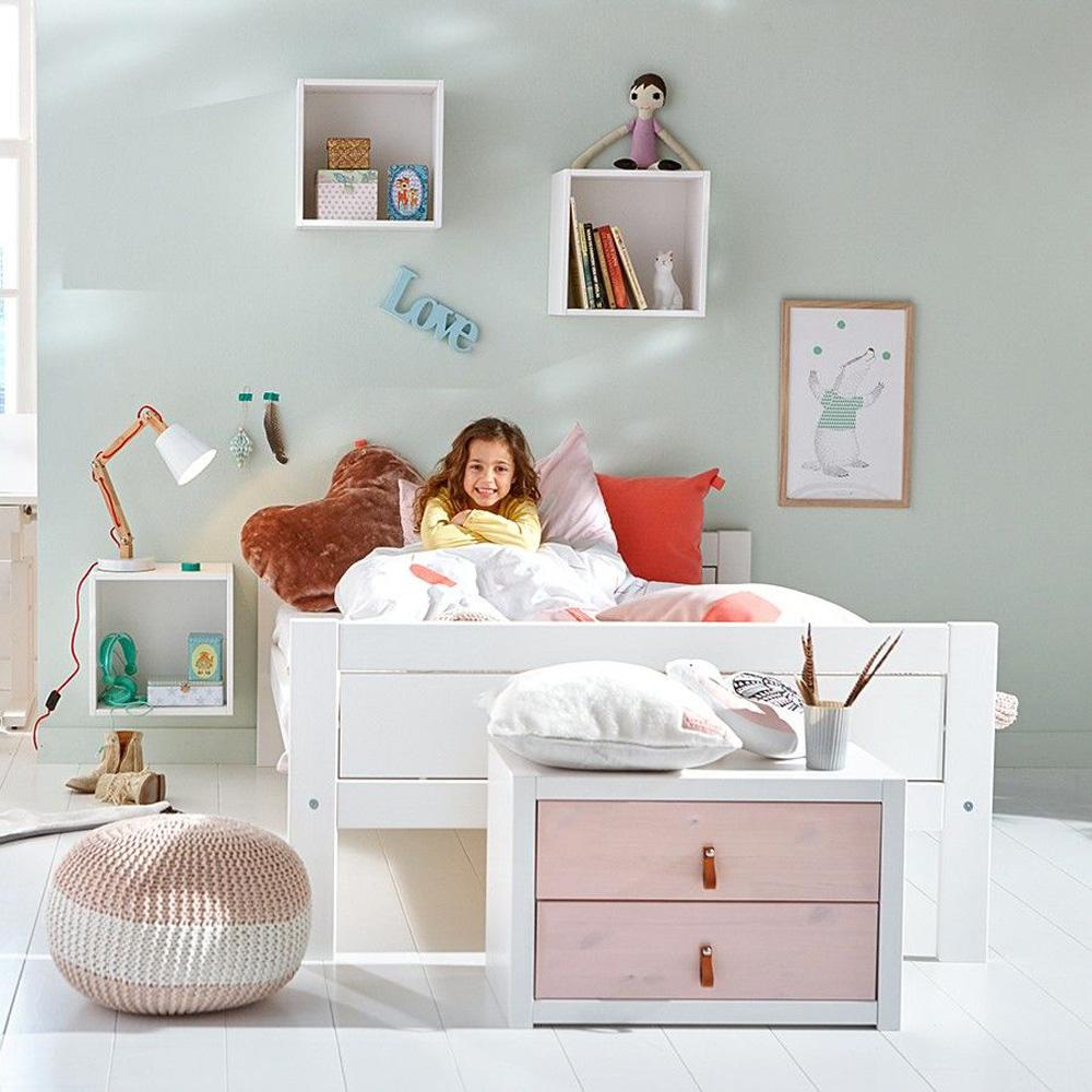 Full Size of Lifetime Jugendbett Doppelbett Inkl Lattenrost Holz Kiefer Wei Bett Weiß 120x200 Betten Mit Matratze Und Bettkasten Wohnzimmer Kinderbett 120x200
