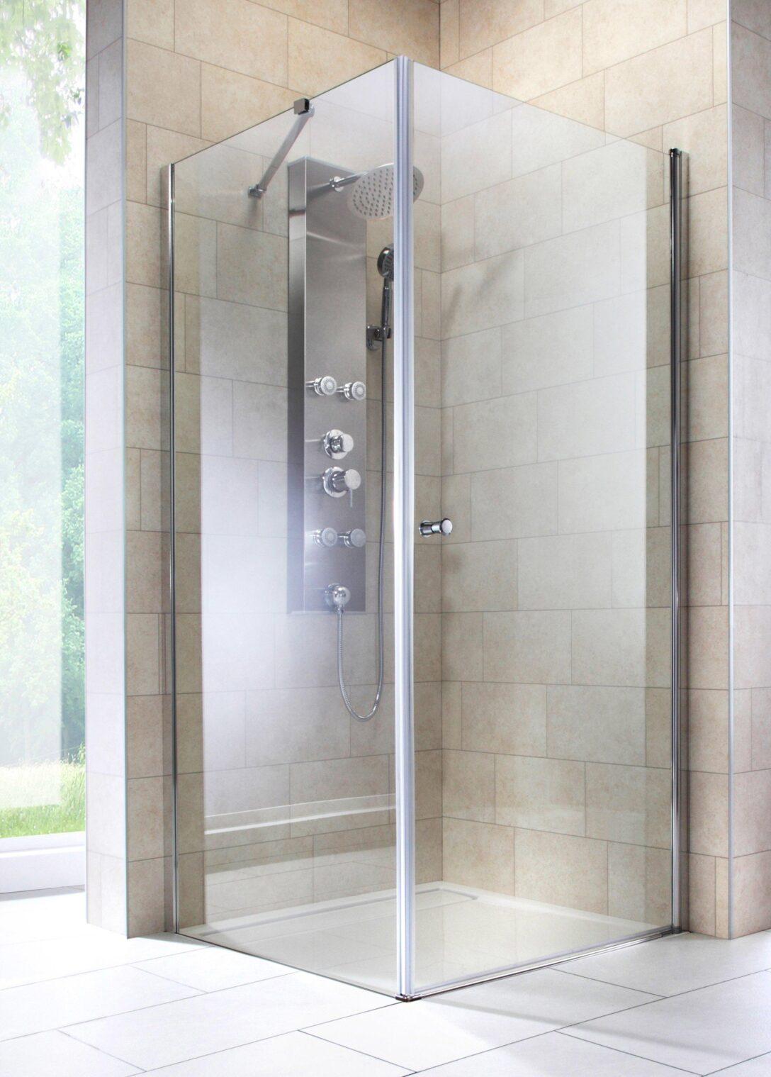Large Size of Eckeinstieg Dusche Eckdusche Florenz Nischentür Anal Glastür Badewanne Grohe Siphon Bluetooth Lautsprecher Duschen Kaufen Bodengleiche Glaswand Pendeltür Dusche Eckeinstieg Dusche