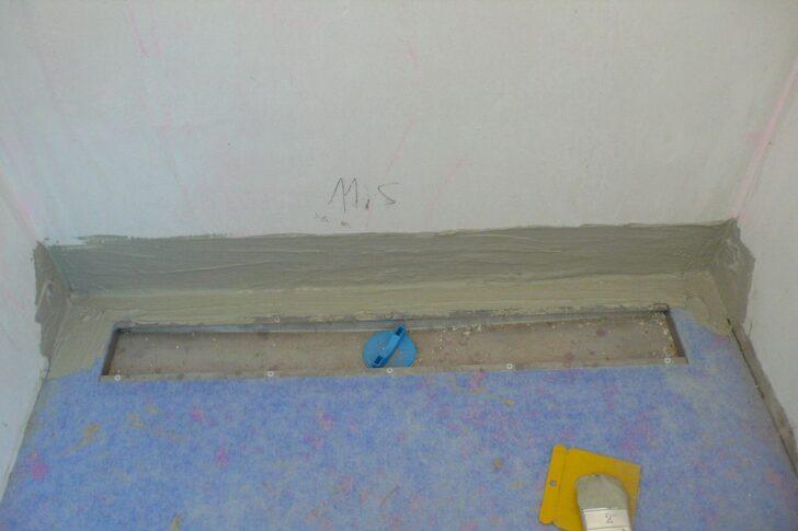 Medium Size of Bodengleiche Dusche Einbauen Bauanleitung Zum Selberbauen 1 2 Neue Fenster Nachträglich Nischentür Bidet Velux Rolladen Anal Unterputz Armatur Siphon Wand Dusche Bodengleiche Dusche Einbauen