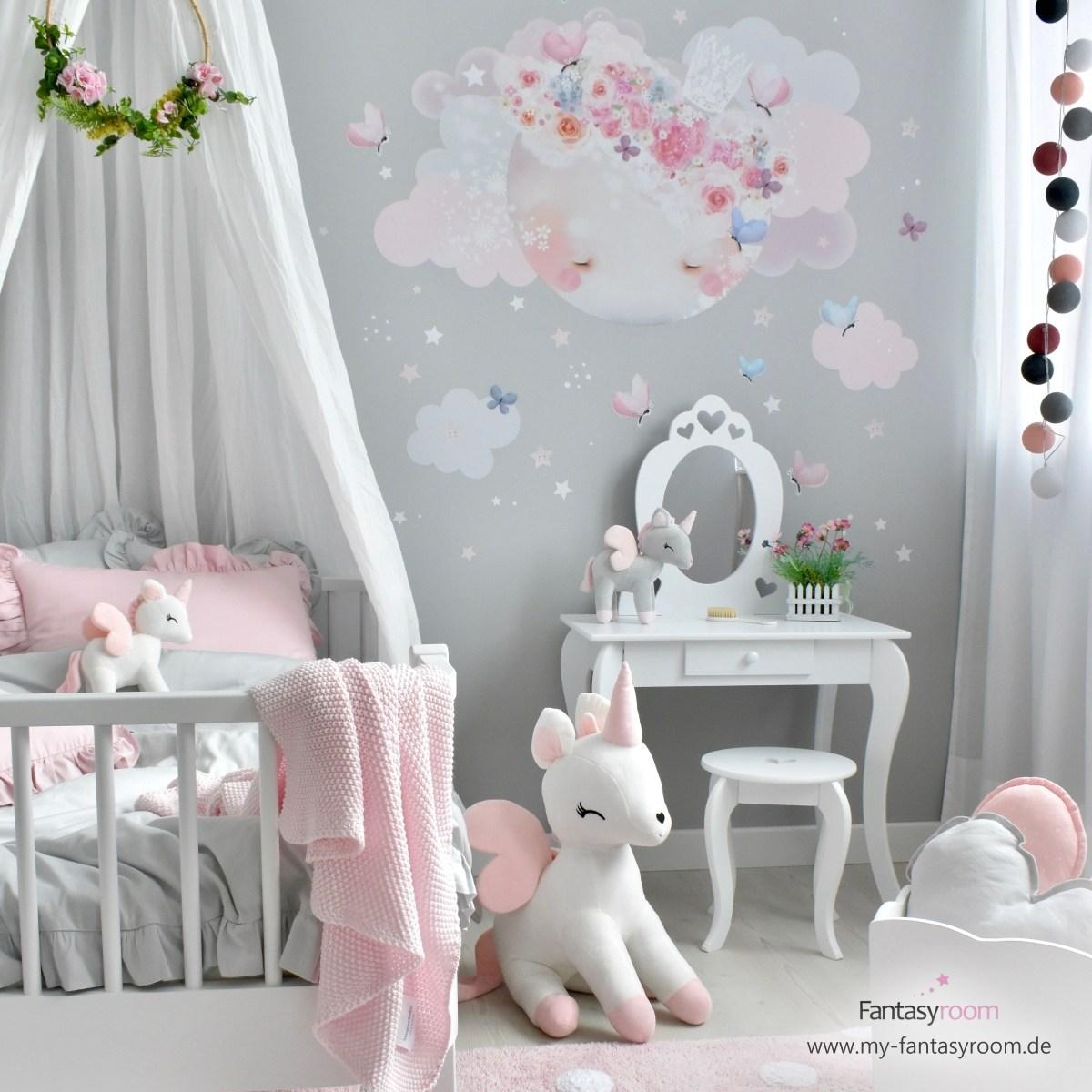Full Size of Kinderzimmer Prinzessin Fantasyroom Rosa Grau 190804 Regal Sofa Regale Bett Prinzessinen Weiß Kinderzimmer Kinderzimmer Prinzessin