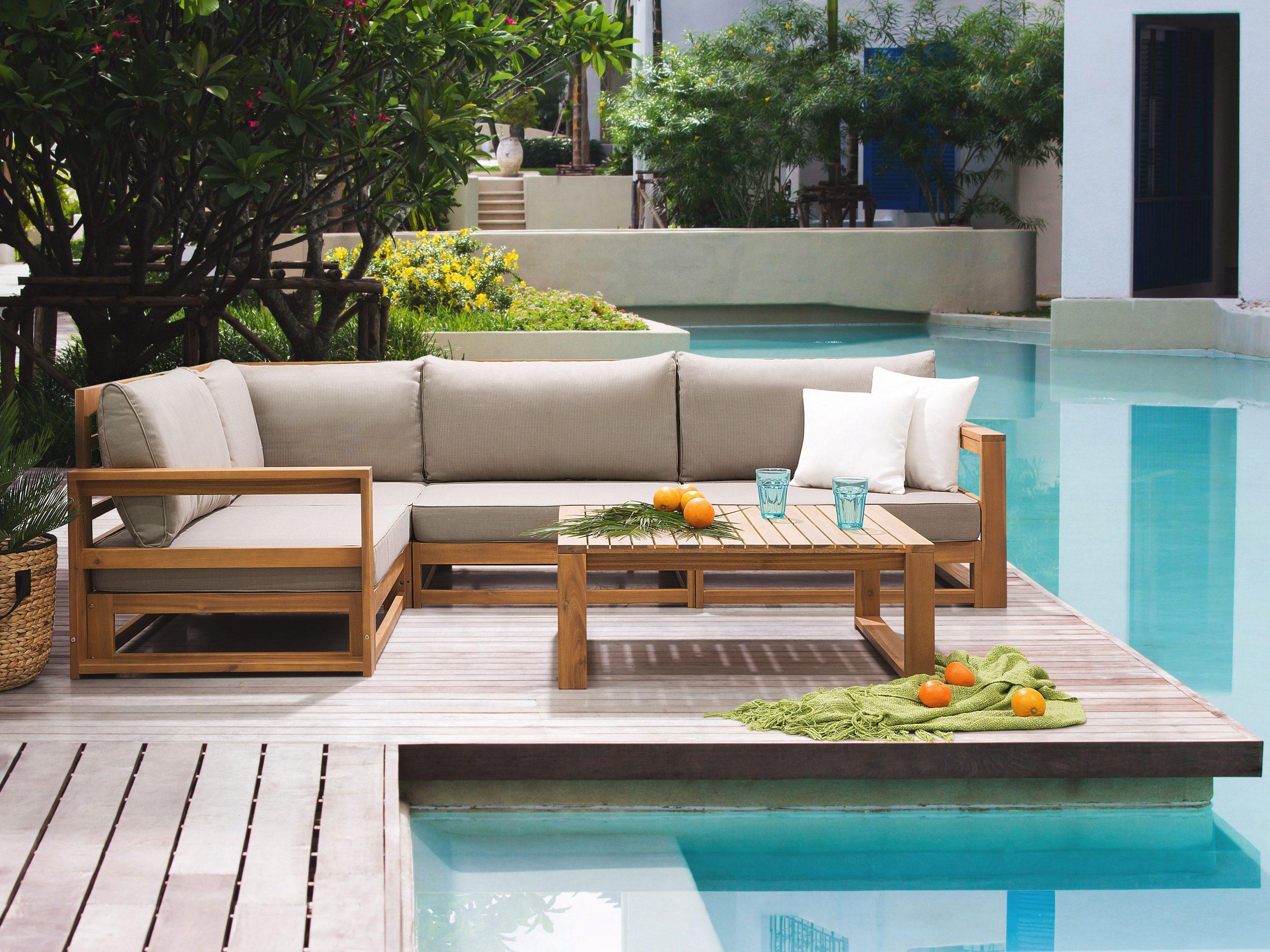 Full Size of Lounge Set Zertifiziertes Holz Braun Timor Belianide Modulküche Loungemöbel Garten Sofa Mit Holzfüßen Altholz Esstisch Regale Holzhaus Küche Weiß Alu Wohnzimmer Loungemöbel Holz