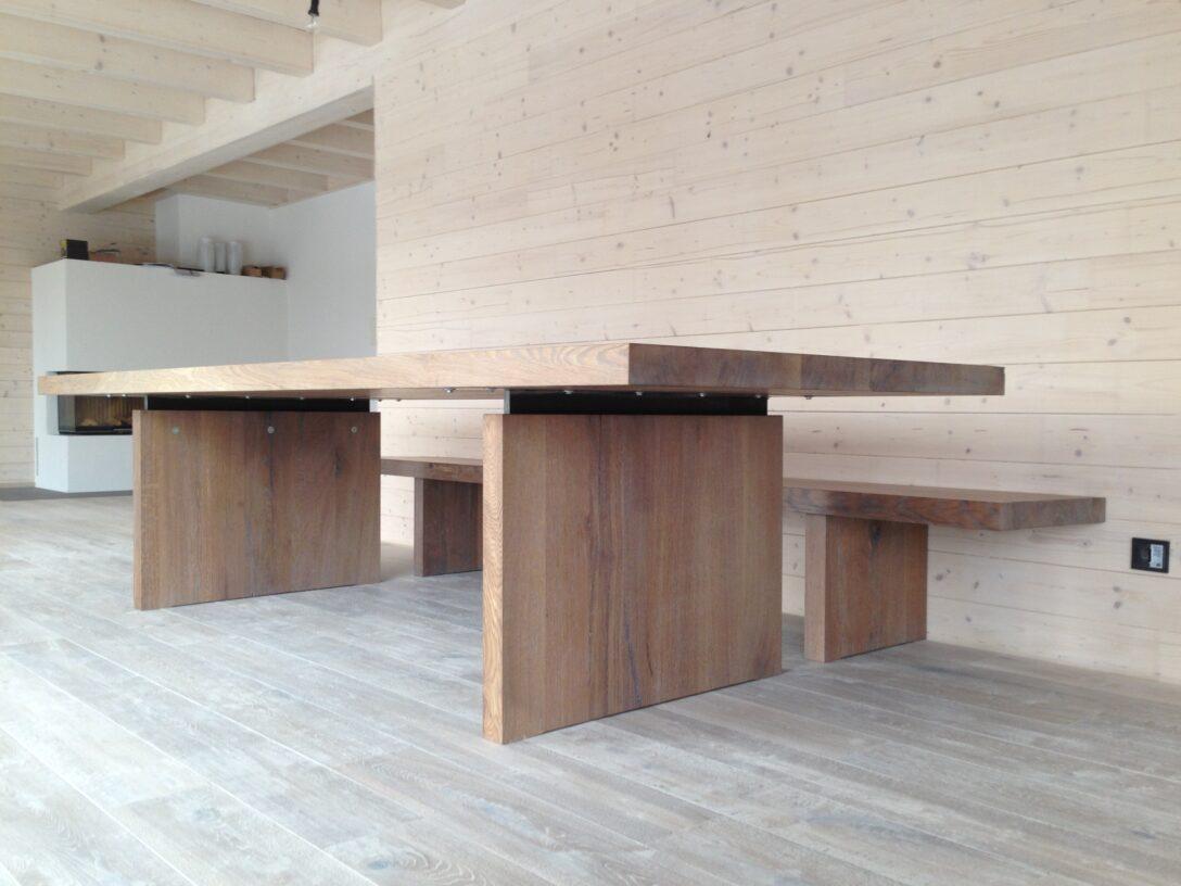 Large Size of Tisch Aus Eiche Rustikal Holzkunststckde Runder Esstisch Oval Weiß Mit Baumkante Venjakob Holz Altholz Ovaler Günstig Esstischstühle Glas Weißer Kleiner Esstische Esstisch Rustikal