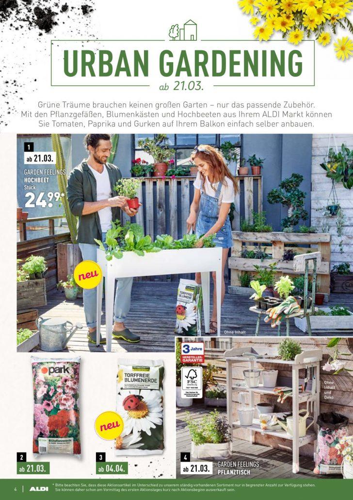 Medium Size of Aldi Nord Aktueller Prospekt 2103 23052019 4 Jedewoche Garten Hochbeet Relaxsessel Wohnzimmer Hochbeet Aldi