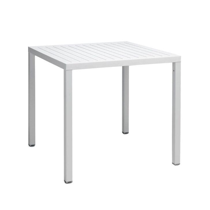 Medium Size of Esstisch 80x80 Nardi Cube Tisch Cm Aluminium Kunststoff Garten Und Freizeit Groß Massiv Esstischstühle Eiche Grau Betonplatte Stühle Großer Lampe Mit Esstische Esstisch 80x80