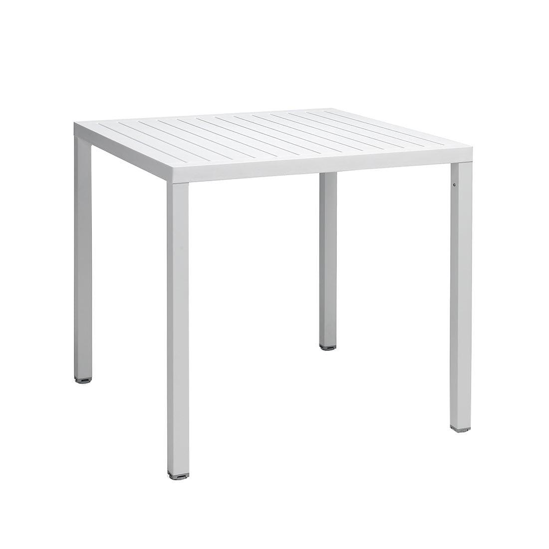 Full Size of Esstisch 80x80 Nardi Cube Tisch Cm Aluminium Kunststoff Garten Und Freizeit Groß Massiv Esstischstühle Eiche Grau Betonplatte Stühle Großer Lampe Mit Esstische Esstisch 80x80