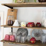 Küche Diy Wohnzimmer Küche Diy Kche Mit Offenen Regalen Green Bird Mode Mintgrün Salamander Kochinsel Hängeschränke Armaturen Wasserhahn Rolladenschrank Schrankküche
