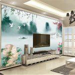 Blumen Boot Tapeten 3d Schne Jiangnan Landschaft Mein Schöner Garten Abo Für Küche Schöne Betten Schlafzimmer Fototapeten Wohnzimmer Die Wohnzimmer Schöne Tapeten