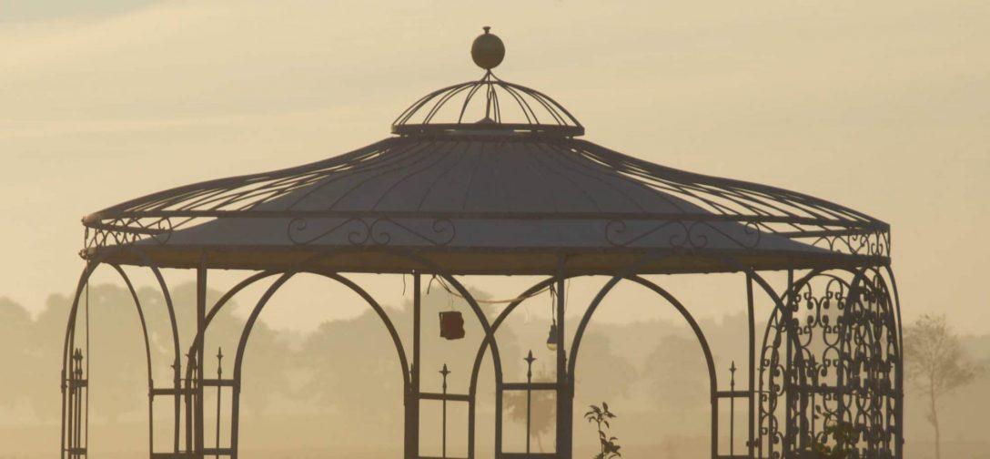 Large Size of Gartenpavillon Metall Pavillon Mit Festem Dach Rund Klein 3 X 5 Wasserdicht Modern 3x4m Schweiz Baumarkt Toom Glas Geschlossen Glasdach Aus Wetterfeste Wohnzimmer Gartenpavillon Metall