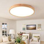 Holzlampe Decke Wohnzimmer Deckenleuchte Holz Lampe Rund Holzlampe Eiche Deckenlampe Deckenlampen Wohnzimmer Modern Led Badezimmer Decken Küche Für Tagesdecke Bett Decke Deckenleuchten