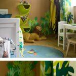 Kinderzimmer Einrichtung Dschungel Mal Anders Regale Regal Weiß Sofa Kinderzimmer Kinderzimmer Einrichtung