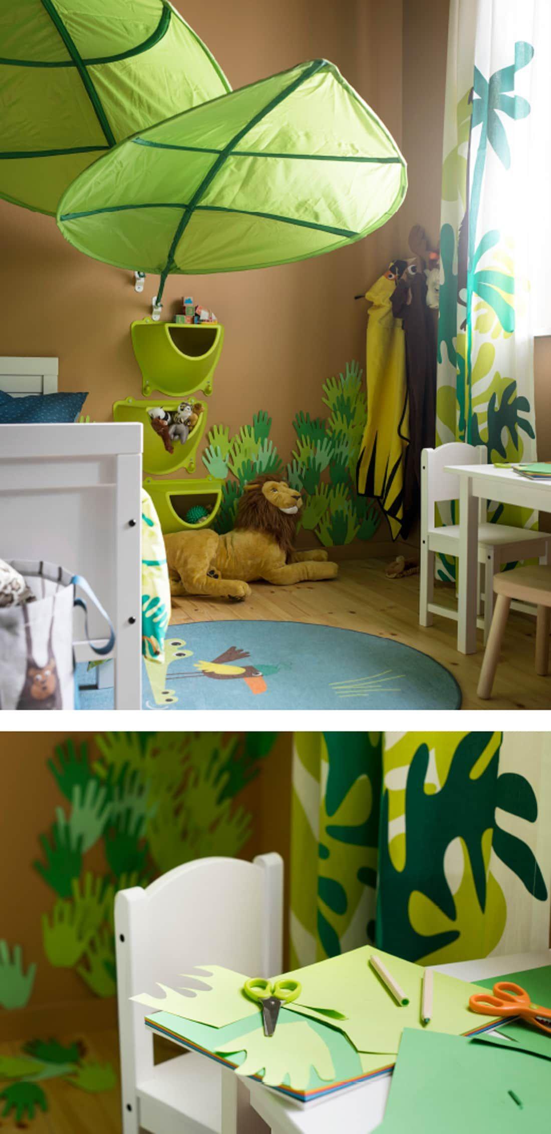Full Size of Kinderzimmer Einrichtung Dschungel Mal Anders Regale Regal Weiß Sofa Kinderzimmer Kinderzimmer Einrichtung