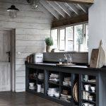 Küchenanrichte Offene Kchenanrichte Kche Anrichte Holzhaus Ho Wohnzimmer Küchenanrichte