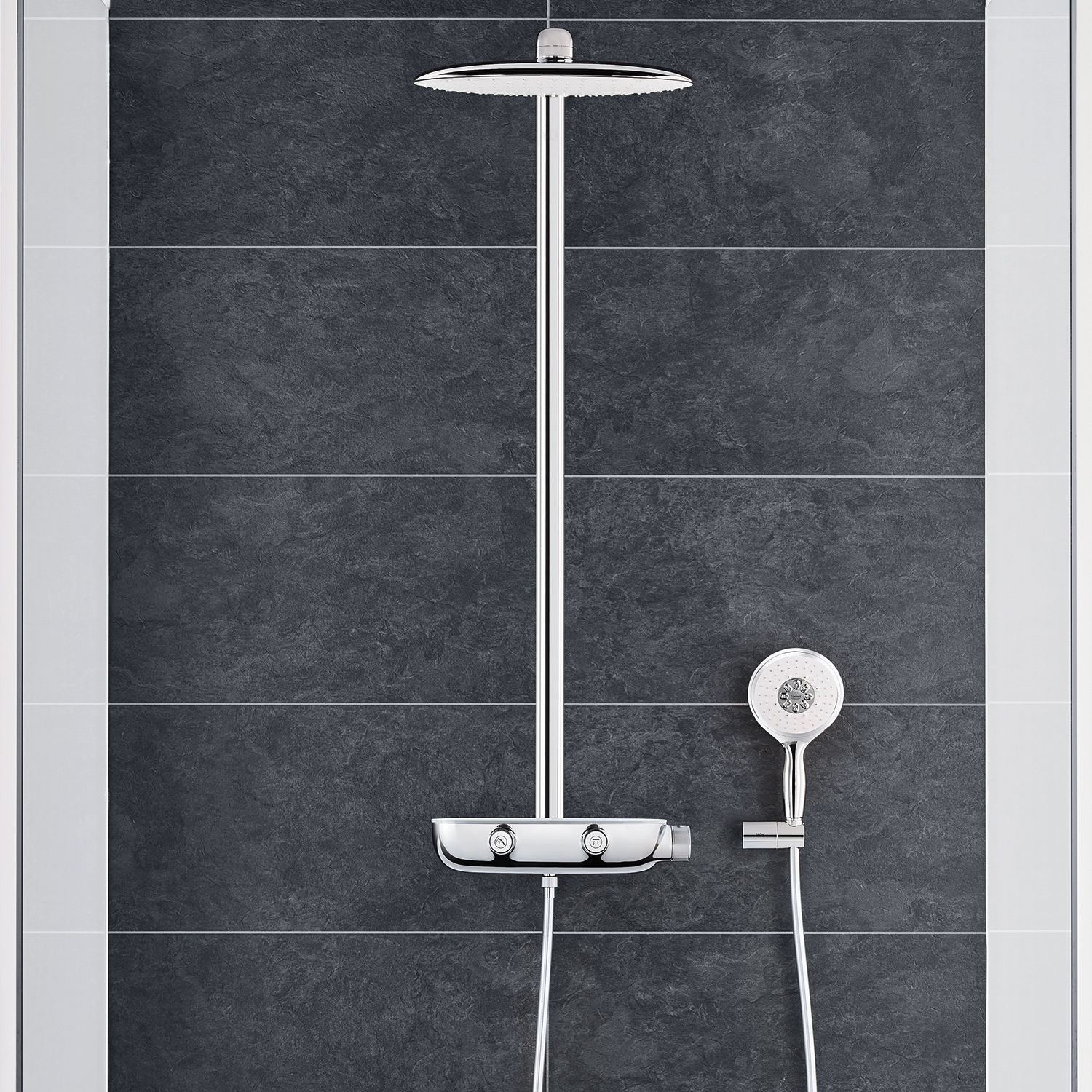Full Size of Rainshower Dusche Thermostatische Duschsule Mit Handbrause Begehbare Badewanne Tür Und Komplett Set Kleine Bäder Einhebelmischer Glastrennwand Ebenerdig Dusche Rainshower Dusche