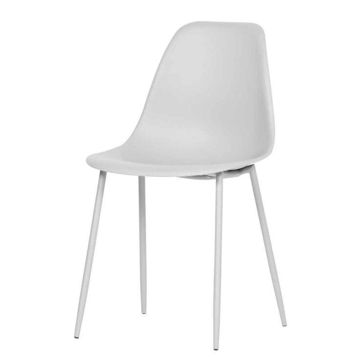 Medium Size of Kunststoff Esstischsthle Henrika In Wei Mit Metallgestell Esstischstühle Esstische Esstischstühle