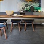 Esstische Ausziehbar Massivholz Kleine Holz Moderne Runde Design Designer Rund Massiv Esstische Esstische