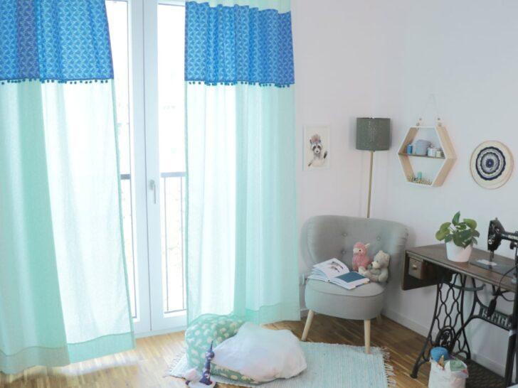 Medium Size of Kinderzimmer Vorhang Vorhnge Frs Nhen Diy Eule Küche Sofa Regal Weiß Bad Regale Wohnzimmer Kinderzimmer Kinderzimmer Vorhang