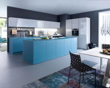 Wandfarbe Küche Wohnzimmer Blaue Kche Mit Grauer Wandfarbe Ideen Bilder Von Leicht Küche Salamander Glaswand U Form Theke Vollholzküche Spüle Wandbelag Griffe Arbeitsschuhe Günstige