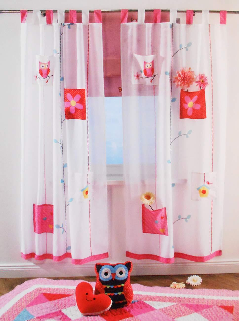Full Size of Novitesse Vorhang Gardine Dekoschal Blau Und Pink Fr Kinderzimmer Regal Weiß Regale Sofa Kinderzimmer Schlaufenschal Kinderzimmer